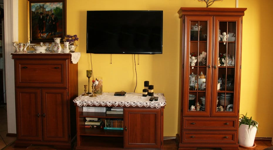 salon telewizor